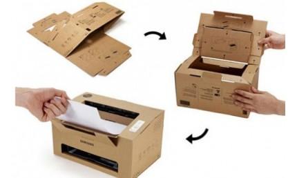 Tái chế vật liệu carton làm máy in