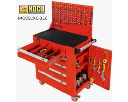 Tủ đồ nghề 6 ngăn Kocu KC-142PCS