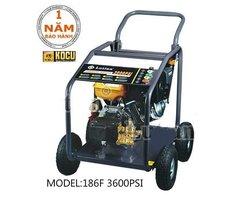 Máy rửa xe Kocu chạy dầu 186F-3600PSI