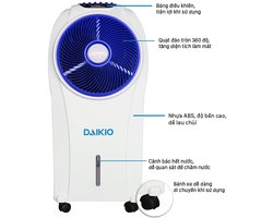 Máy làm mát không khí Daikio DK-1500A