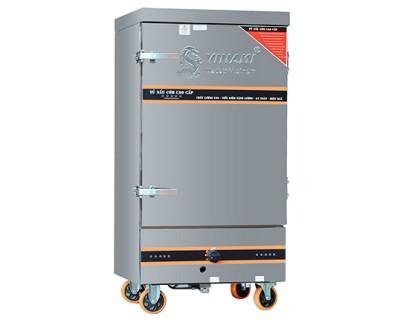 Tủ cơm công nghiệp gas, điện 80kg gạo