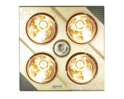 Đèn sưởi nhà tắm Kottmann  K4B-G 4 bóng