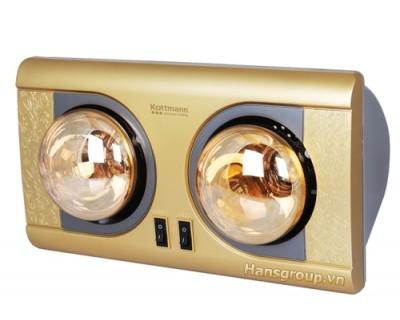 Đèn sưởi nhà tắm Kottmann K2BH 2 bóng
