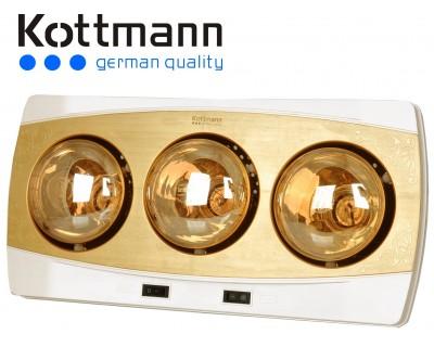 Đèn sưởi nhà tắm Kottmann K3BH 3 bóng