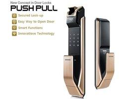 Khóa cửa Samsung SHS-P718LBK/EN