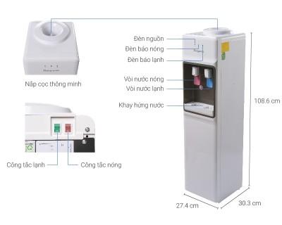 Cây nước nóng lanh Kangaroo KG-36A3