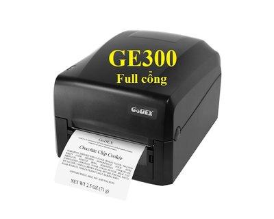 Máy in mã vạch Godex GE300 Full cổng