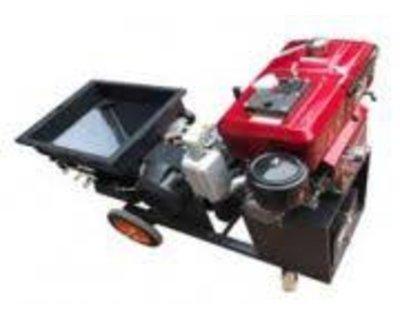 Máy phun vữa chạy dầu Sika Diesel 12HP