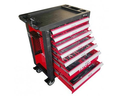 Tủ đồ nghề 7 ngăn Yato YT-55302 (400 chi tiết)
