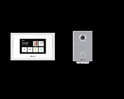 Bộ chuông cửa 7 inch BasIP AQ07LL+ AV03D ( Màu bạc)
